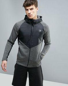 Jack & Jones Tech Longline Hybrid Zip Up Hoodie Mens Sweatshirts, Hoodies, Slim Fit Joggers, Hoodie Outfit, Jack Jones, Athletic Fashion, Sport Fashion, Sport Outfits, Zip Ups