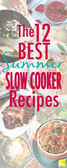 12 To-Die-For Summer Slow Cooker Recipes