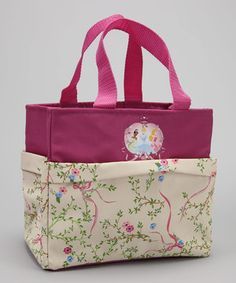 Precious cuties can carry everything they need in this adorable tote. Boasting a durable polyester construction that can survive rambunctious royalty, it is perfect for outdoor adventures and crafting supplies.