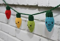 Crochet Christmas Lights.