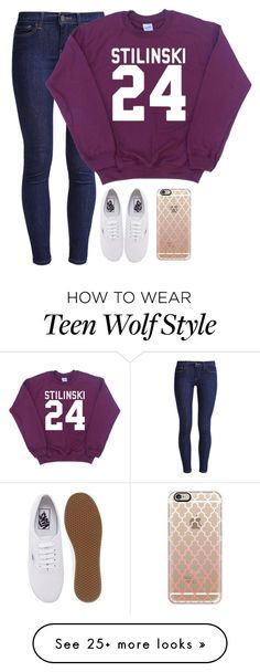 """""""This is seriously so my friend Maddie.. """" by meljordrum on Polyvore featuring Levi's, Vans and Casetify"""
