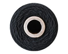 Black Baker's Twine - 10 Yards - The Twinery / Craft Cotton String Yarn Solid Divine Jute Hemp Charcoal Licorice