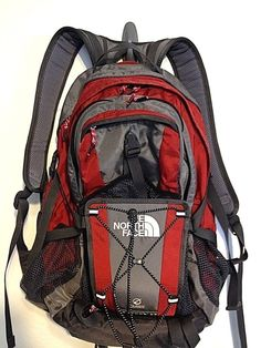 THE NORTH FACE NEUTRON  32 Flight Series Backpack RED/Gray #thenorthface