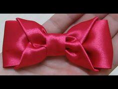 Laço de fita de cetim - Laço envelope - Laço Simples - DIY Bow - YouTube
