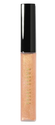 Be a sparkly host with gold glitter lip balm.
