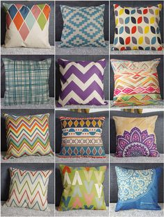Variety Vintage Linen Cotton Cushion Covers Throw Pillow Case Home Sofa Decor Throw Pillow Cases, Decorative Throw Pillows, Geometric Flower, Vintage Linen, Cushion Covers, My Room, Cotton Linen, Cushions, Blanket