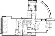 Passionate Duplex Cabin with Authentic Interior Design: Creative Section Planning Design In Sunset Point House With Beautiful Garden Filled ...