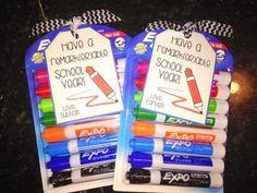 First day of school teacher gift!! #teachergifts