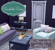 Crosley Turntable recolors at Mel B CC and Legacy • Sims 4 Updates