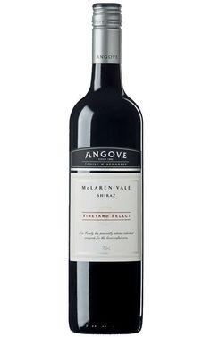 Angove Vineyard Select Shiraz 2014 Mclaren Vale - 6 Bottles Cabernet Sauvignon, Wines, The Selection, Vineyard, Bottles, Fragrance, Vine Yard, Vineyard Vines, Perfume