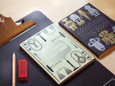 Library notebooks by P&C