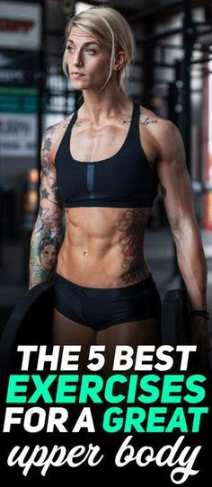Check out the 5 best exercises for a great upper body! Photo Credit: Taylor Loyd! #fitness #fit #girl #gym #exercise #workout