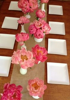 coral peony // milk glass // beachplumfloral.com // Boston, Cape Cod & The Islands // Wedding Floral Designers