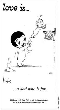 """I'm pretty sure this is a picture of a dad, two beers in, tossing his child into a basketball hoop... Looks like a lot of """"fun""""! Lol!"""