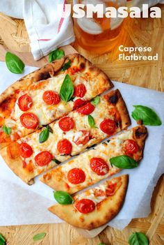 Caprese Flatbread ~ super easy