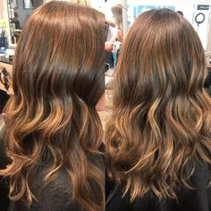 Very soft sun kissed balayage. This is great for anyone that wants a little lift. Very soft sun ki How To Bayalage Hair, Sun Kissed Hair, Brown Balayage, Brown Hair, Salons, Hair Color, Long Hair Styles, Highlights, Beauty