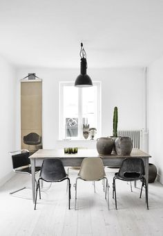 An old Swedish home with fresh white and ethnic touches