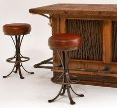 Rustic Industrial Bar Stools Archives   Ikeup.com