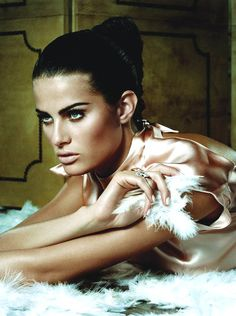 Isabeli Fontana by Jacques Dequeker for Vogue