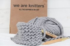 We are knitters - Stickevent - DIY Sweden Big Wool, Chunky Wool, Merino Wool Blanket, Sweden, Diy And Crafts, Blog, Wednesday, Cash Register, Threading