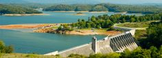 Douglas Lake Dam in Dandridge, Tennessee where my mamaw and papaw had a house.