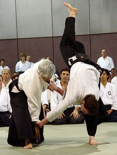 Moriteru Ueshiba Doshu by aikiweb, via Flickr
