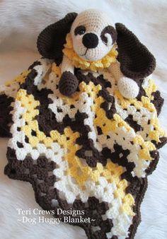 crochet pattern ($$) - puppy huggy blanket