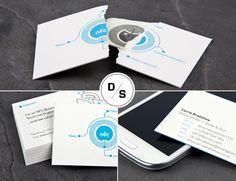 Design Spotlight: MOO NFC Business Cards