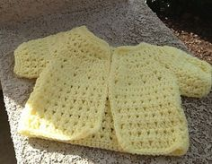 Ravelry: Karen's X Stitch Baby Sweater pattern by Karen's Crocheted Garden of Colors