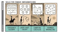 For New Scientist. #tomgauld #cartoon #science... #YOU_RE_ALL_JUST_JEALOUS_OF_MY_JETPACK #Tom_Gauld #Arsetculture