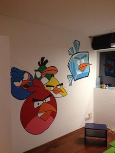 Angry Birds Bedroom On Pinterest