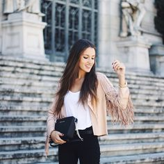 Fringed #Jacket