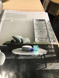 Belle p35 aug/sept 2018  Nau 'Bilgola' daybed  'Potence pivotante'  mini wall light mondo Luce