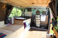 wood, herbs, vanning, vanlife, van, vw t4, camping, converting, conversion…