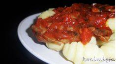 GNOCCHI Z SOSEM POMIDOROWYM  przepis na http://www.kocimieta.pl/2014/02/gnocchi-z-sosem-pomidorowym.html