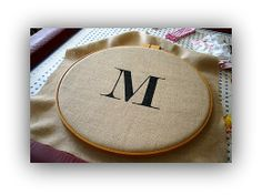 Life as a Thrifter: A Monogram Project
