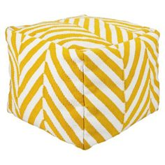 ~Square Pouf~ Easy way to add more seating without taking up space. And they are super durable….