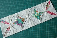 Cathedral Windows Tutorial Part 2 by Susan Dunlop - a full step-by-step how to quilting tutorial.