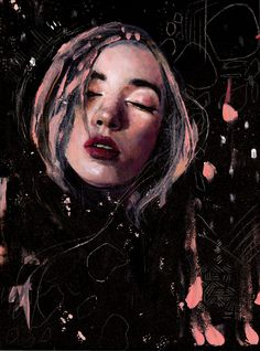 Karina Love — Gathering Lost Dreams  Art, love, abstract, portrait, colors, mood