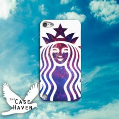 Starbucks Inspired Logo Art Cool Galaxy Space by TheCaseHaven, $14.99