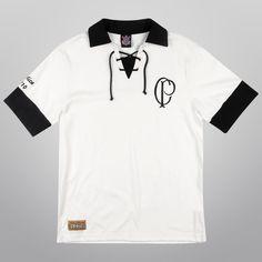 ddc0d25a332ab Camiseta Retrô Corinthians - Réplica 1910 - Shoptimão