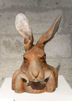 bunny memes and photos that will warm your heart 12 rodents pet rabbit bunny Rabbit Sculpture, Paper Mache Sculpture, Sculptures Céramiques, Art Sculpture, Rabbit Crafts, Rabbit Art, Pet Rabbit, Ceramic Animals, Clay Animals