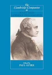 The Cambridge Companion To Kant And Modern Philosophy Modern Philosophy History Of Philosophy Cambridge
