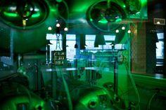 Interiér Restaurantu Kandelábr - pivo z tanku