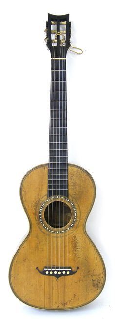 19th century Panormo parlour guitar « Guitar Auctions – Specialists in Fine, Rare, Antique, Vintage & Later Guitars