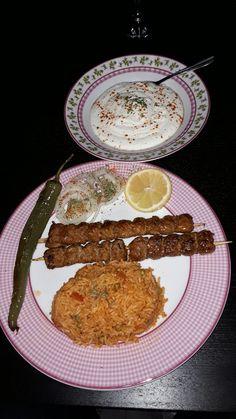 Adana Spieß, mit Djuvec Reis und türkischer Joghurt 👌❤