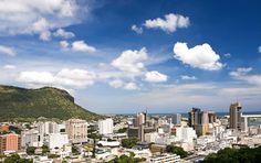 #Port #Louis auf #Mauritius Mauritius, Seattle Skyline, Strand, San Francisco Skyline, Travel, Ocean, Paradise, Island, Landscape
