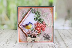 Tattered Lace Picture Decoupage Collection [Dispatch from May] - ★ New Arrivals Birthday Card Pop Up, Daisy Hill, Tattered Lace Cards, Shaped Cards, Die Cut Cards, Card Making Inspiration, Card Maker, Vintage Labels, Crafty Projects