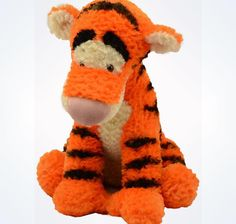 """Disney Parks Tigger From Winnie The Pooh 15"""" Plush From pet and smoke free envinroment New With Tags"""