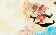 Future Islands - In Evening Air  (also a site of album covers turned into wallpapers, awesome)